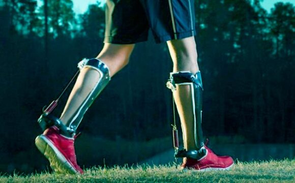 Passive leg exoskeleton will allow people to run 50% faster
